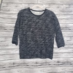 Madewell Marled Shadetree Pullover Sweater